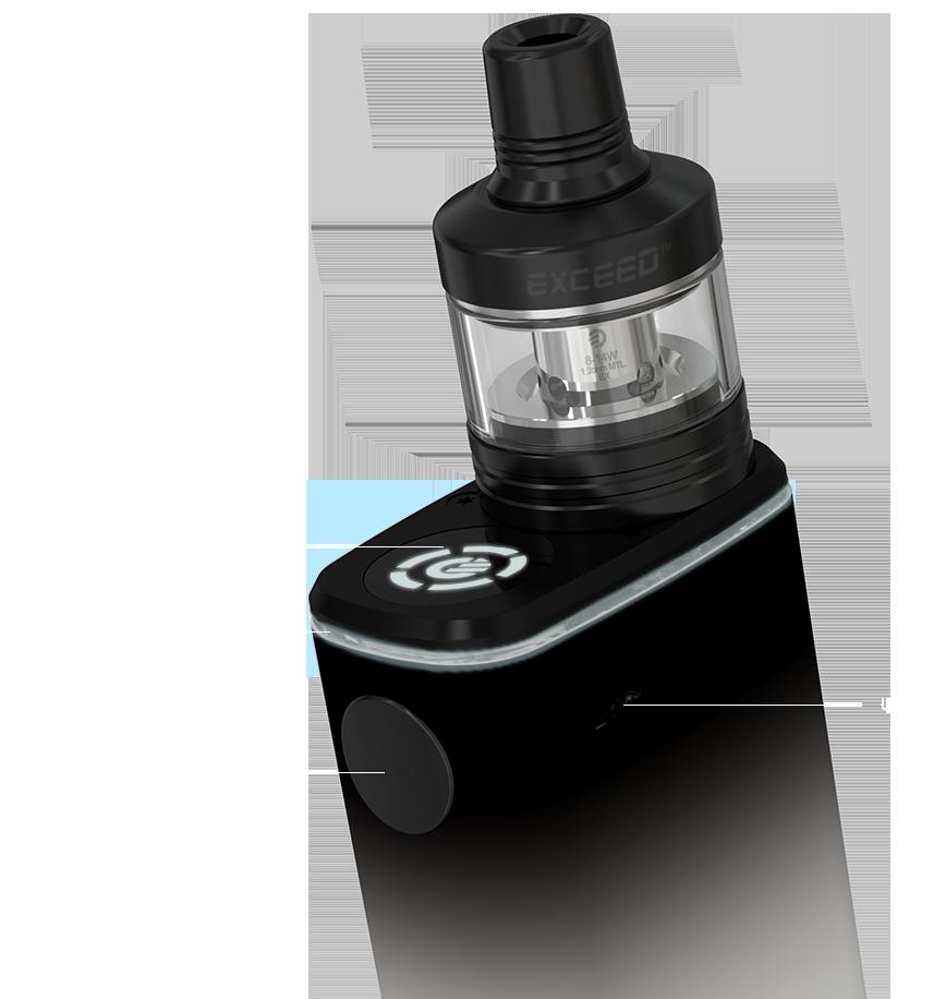 Kit Exceed Box 3000 mAh | Atomizador Exceed D22C | Joyetech®