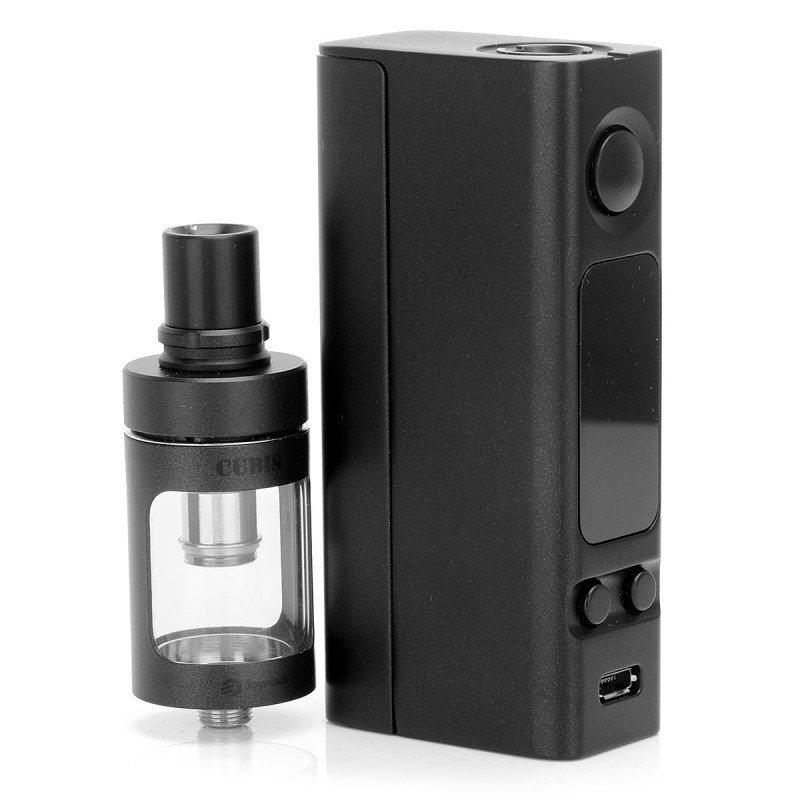 Kit Cigarro Eletrônico eVic VTC Mini 75 W com CUBIS - Joyetech  mod atomizador