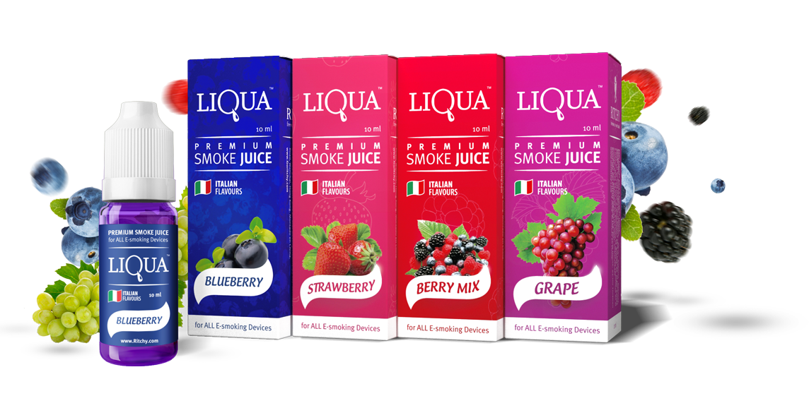 Líquido LIQUA Berries | Ritchy | Berry Mix