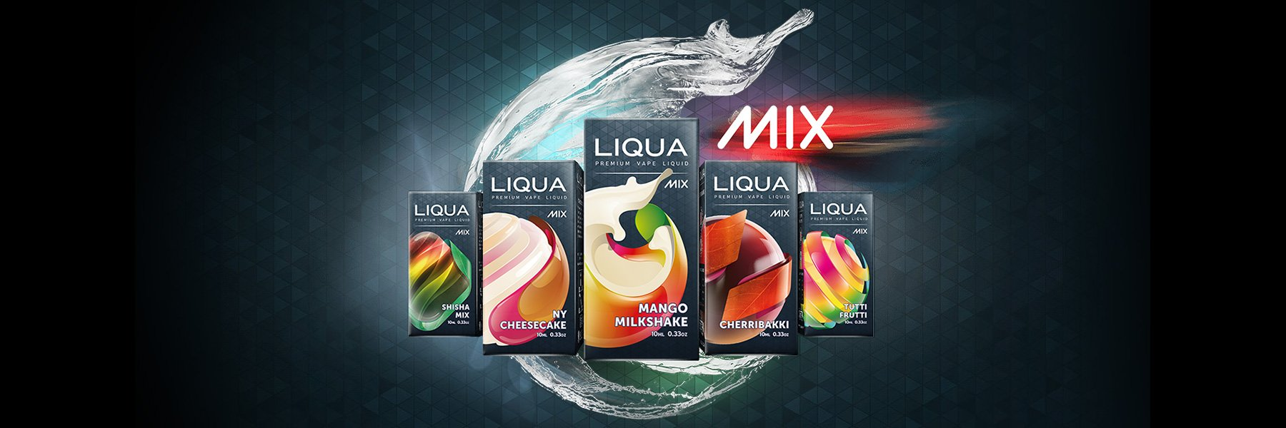 Líquido LIQUA Mixes | Ritchy | Chocolate Mint