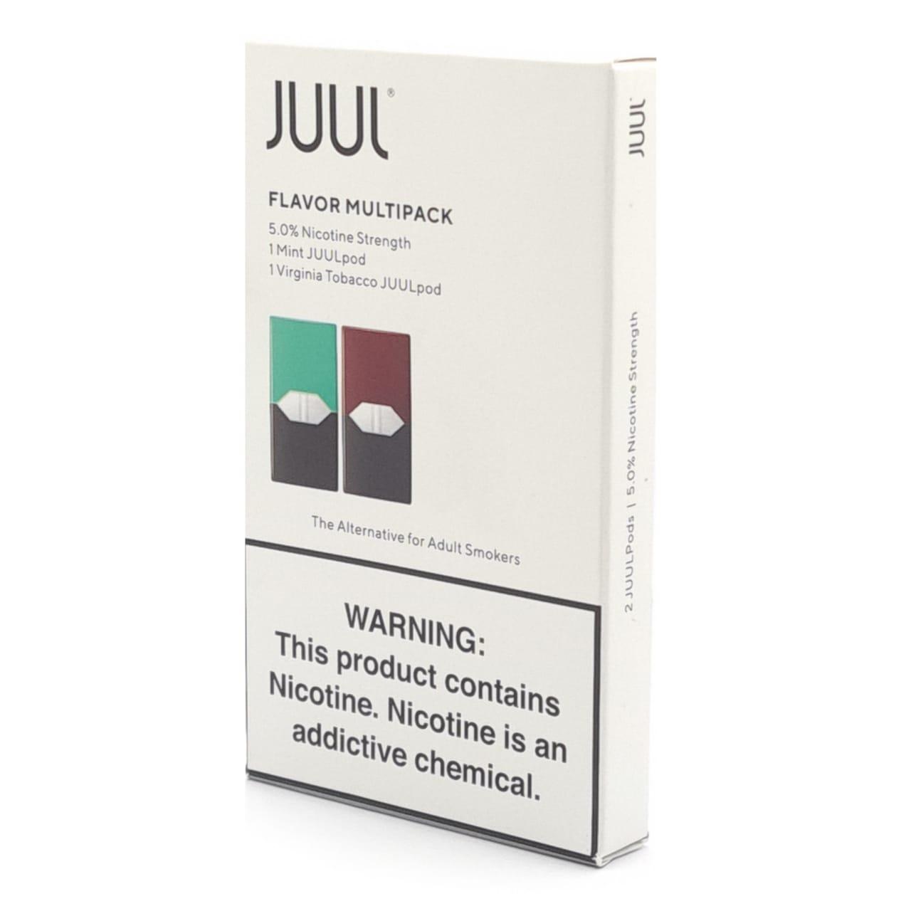 Pod (Cartucho) de Reposição (c/ Líquido) p/ JUUL - JUUL: