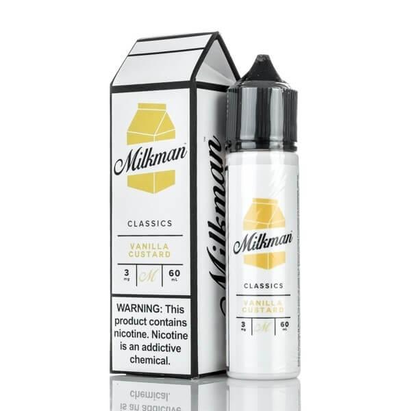 Liquido The Milkman |Vanilla Custard
