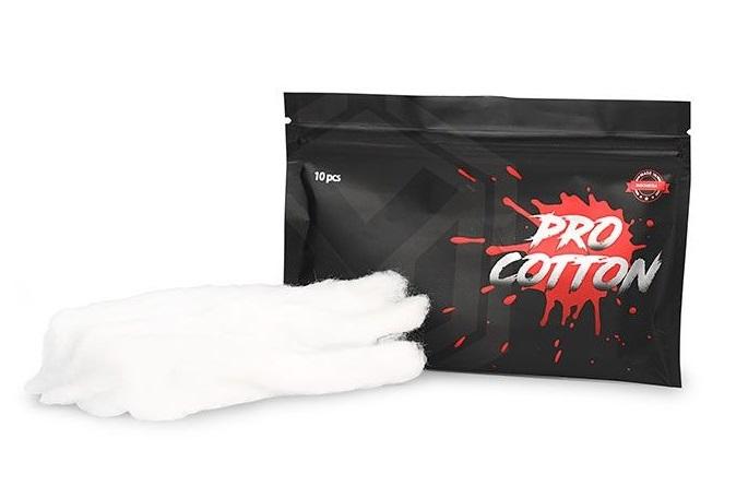 Algodão Pro cotton 100% Organico (Indonésia) - Coil Master