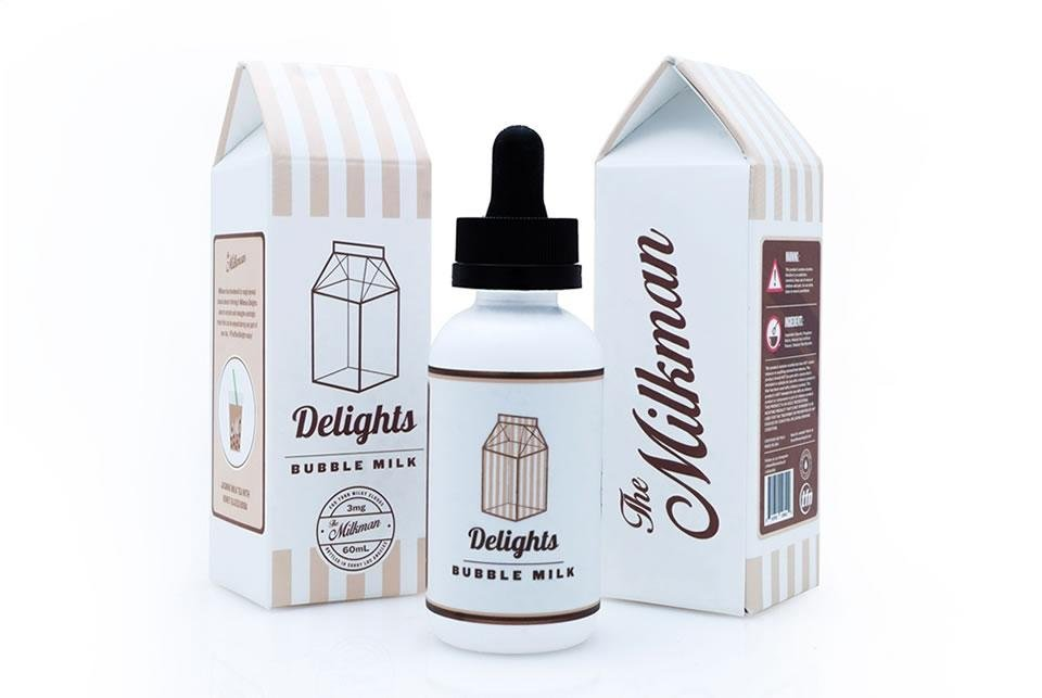 Líquido  Bubble Milk | Delights |  The Milkman e-Liquids