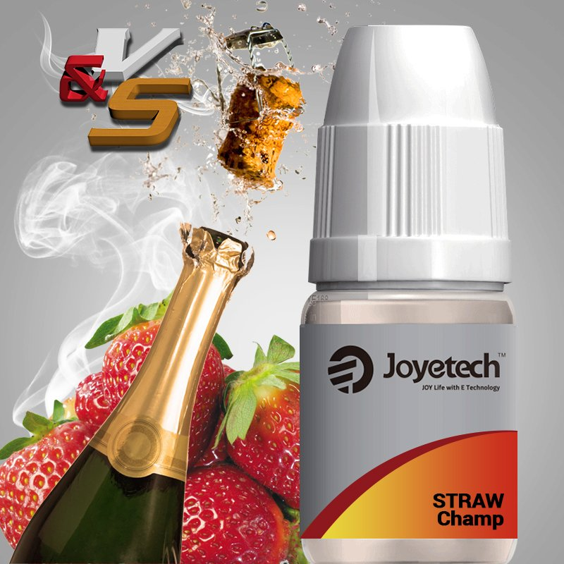 Líquido Joyetech® Straw Champ (Morango e Champagne)