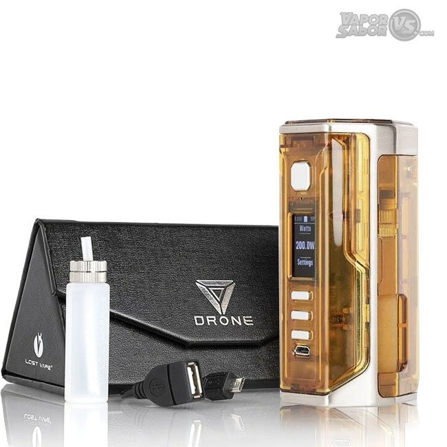Drone BF DNA250C Mod 200W SQUONK - Lost Vape