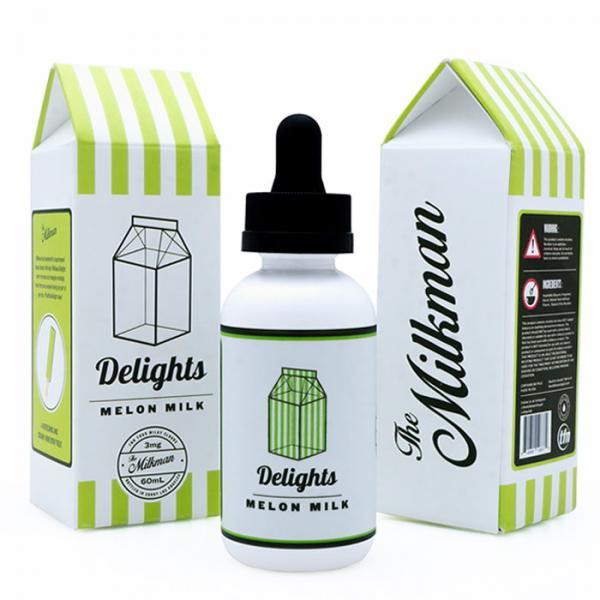Líquido Melon Milk | Delights | The Milkman e-Liquids