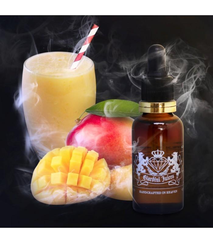 Líquido Milky Mango (Manga - Leite Condensado - Mentolado) Giardini Juices