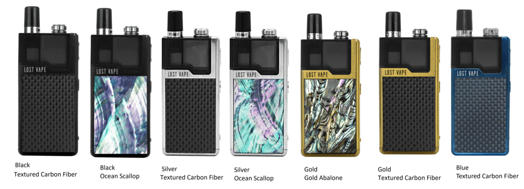 Kit POD System Orion DNA GO - 950mAh - Lost Vape