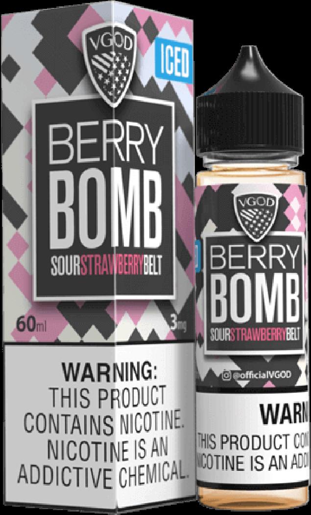 Líquido Berry Bomb Iced   Vgod