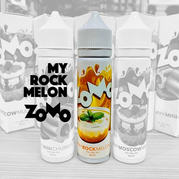 Líquido ZOMO - My Rock Melon