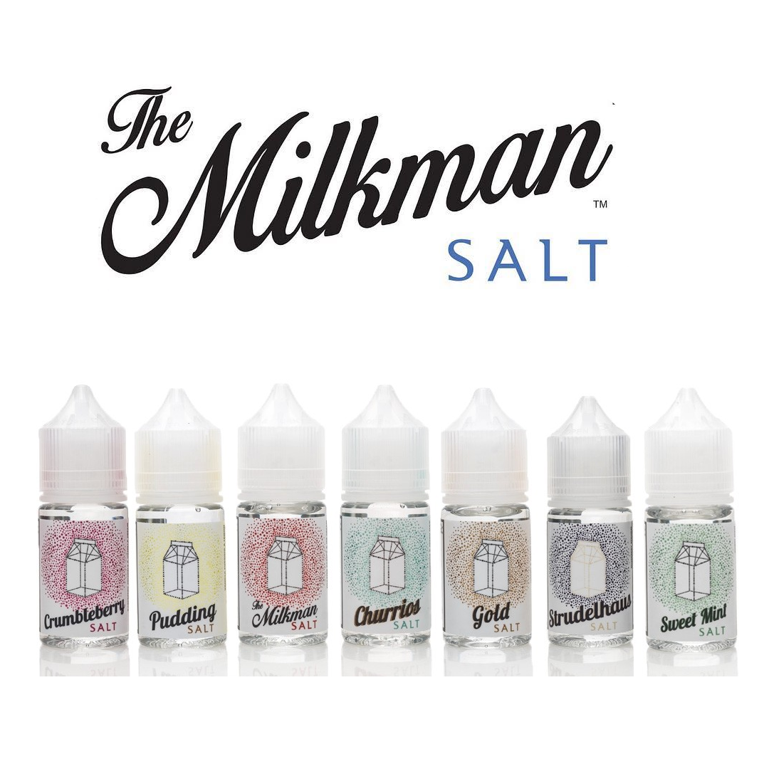 Líquidos - The Milkman eLiquid - 40 MG - Salt Nicotine