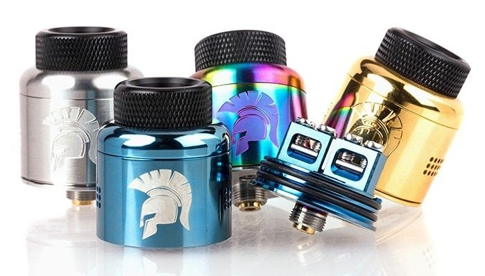 Atomizador Warrior - 25mm BF RDA - Wotofo x JMT Elite