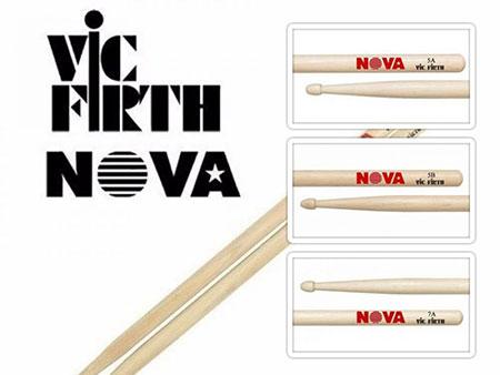 baqueta vic firth hickory nova