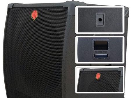 gabinete caixa de som vazio sub grave 15 polegadas