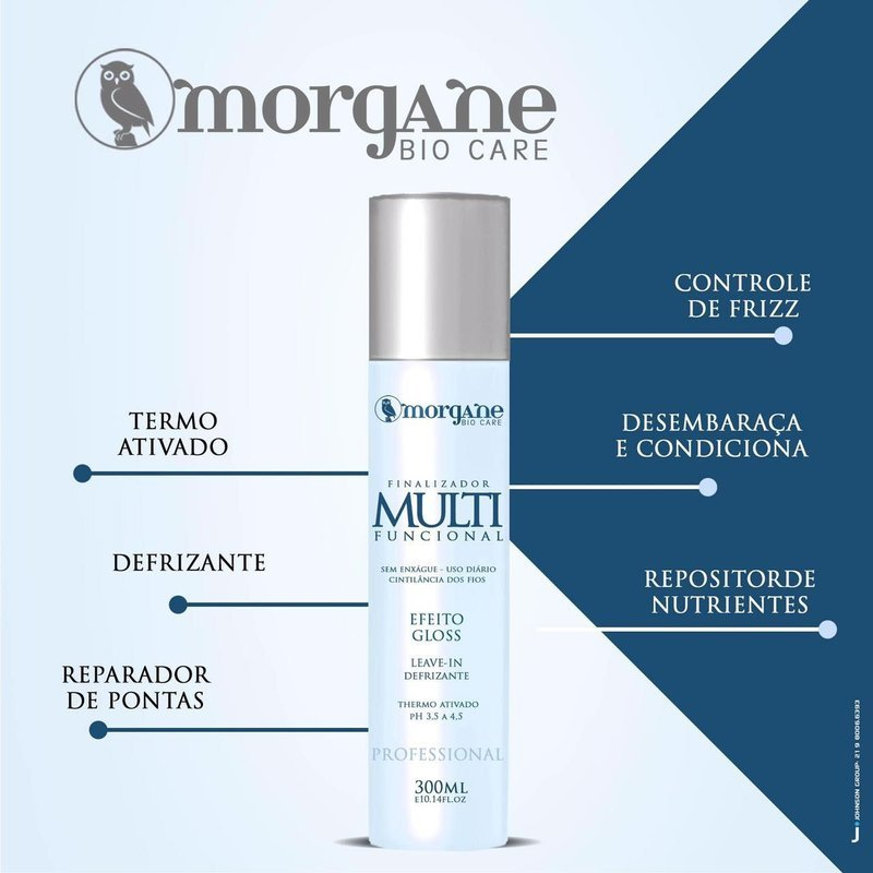 Finalizador Multi Funcional Leave-in Termoativado Morgane Bio Care