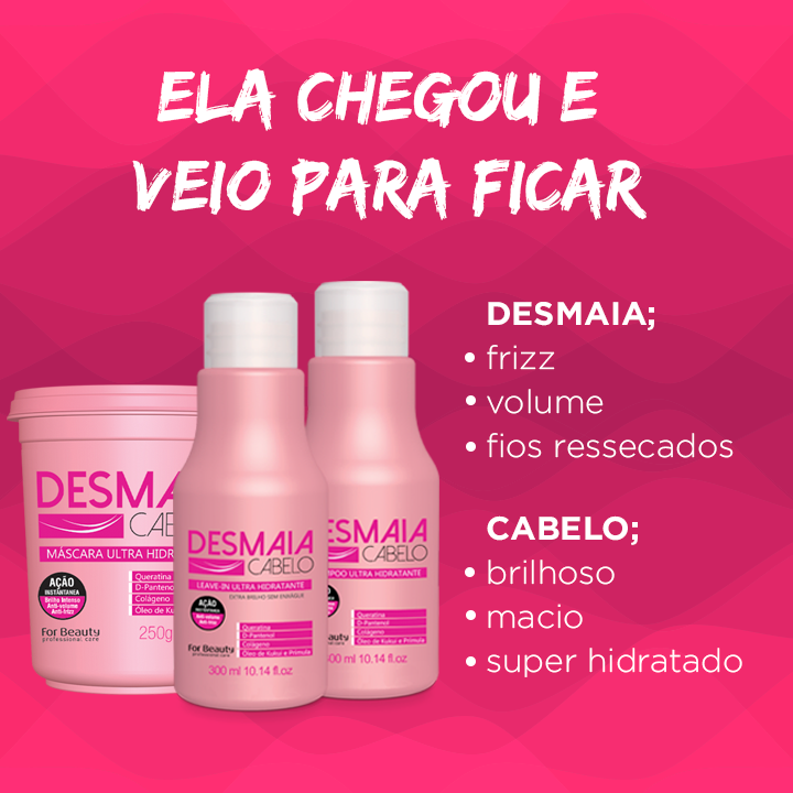 For Beauty Desmaia Cabelo