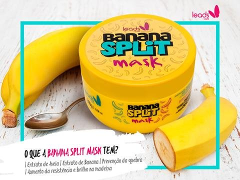 Banana Split Leads Care Máscara