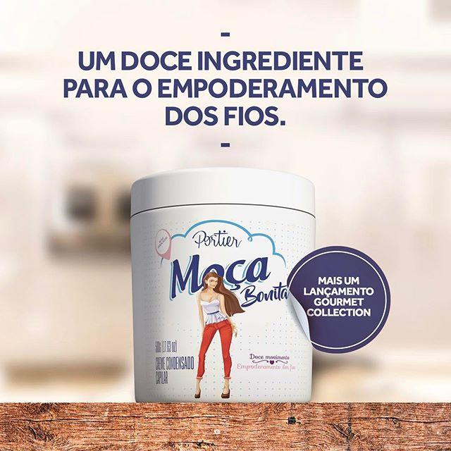 Portier Gourmet Creme Condensado Capilar Moça Bonita