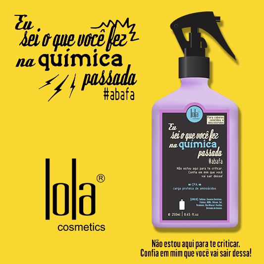 Spray Eu sei o que você fez na química passada Lola Cosmetics