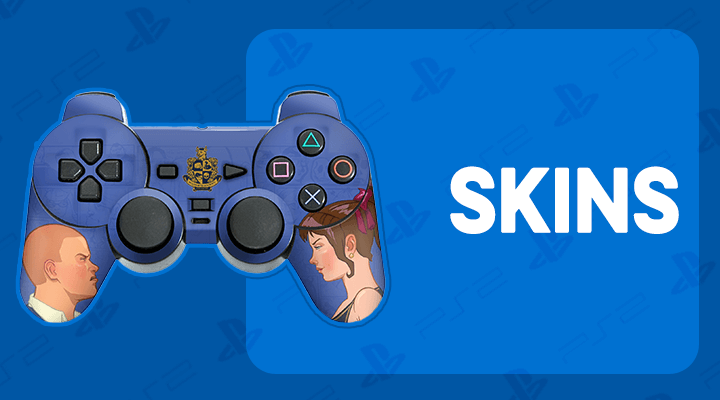 PS2 CONTROLE SKINS