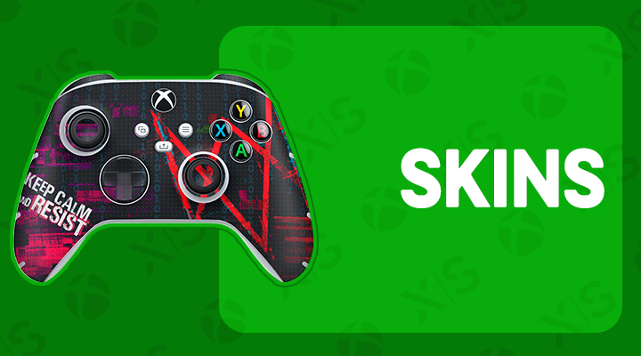 XBOX SERIES S X CONTROLE SKINS