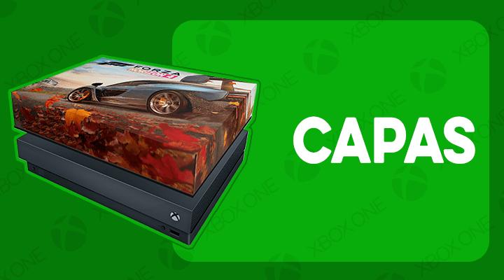 XBOX ONE X CAPAS