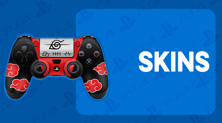 PS4 CONTROLE SKINS