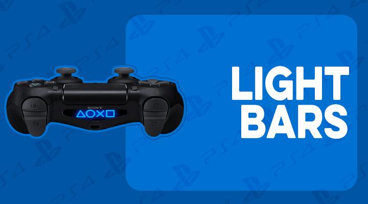 PS4 LIGHT BAR SKINS