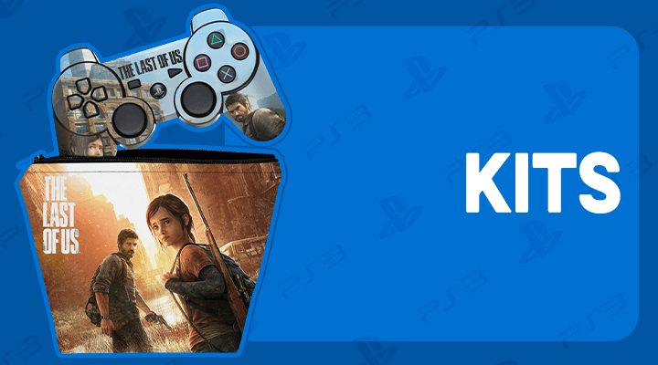 PS3 CONTROLE KITS