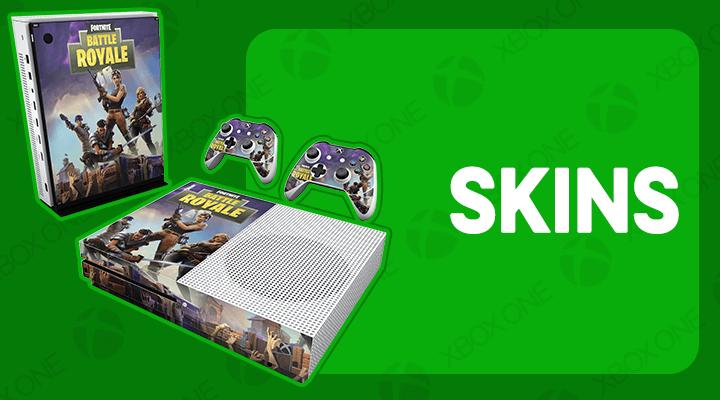 XBOX ONE S SLIM SKINS