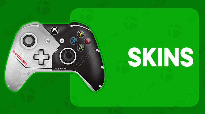 XBOX ONE S X CONTROLE SKINS