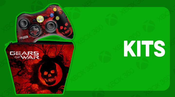 XBOX 360 CONTROLE KITS