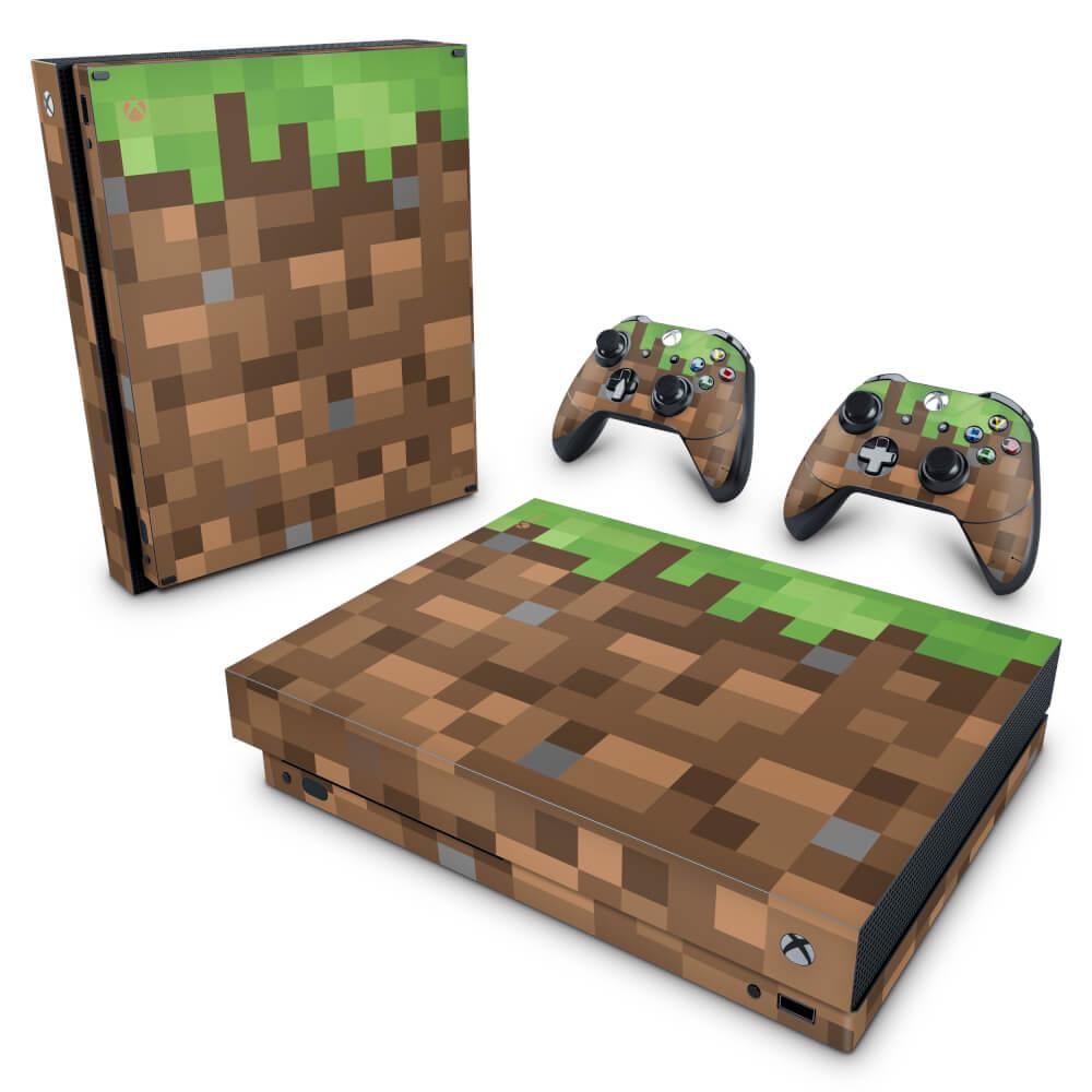 Xbox One Slim Skin - Minecraft