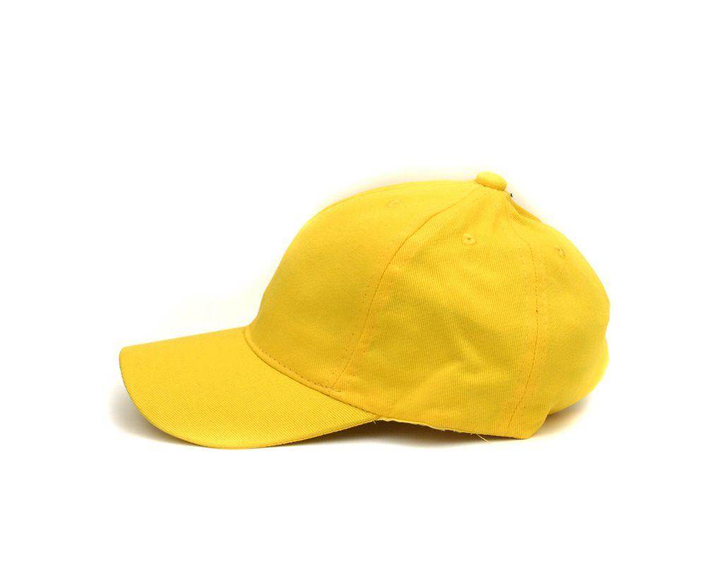 ... Boné Aba Curva Amarelo Liso - Imagem 2 ... 760950636f6