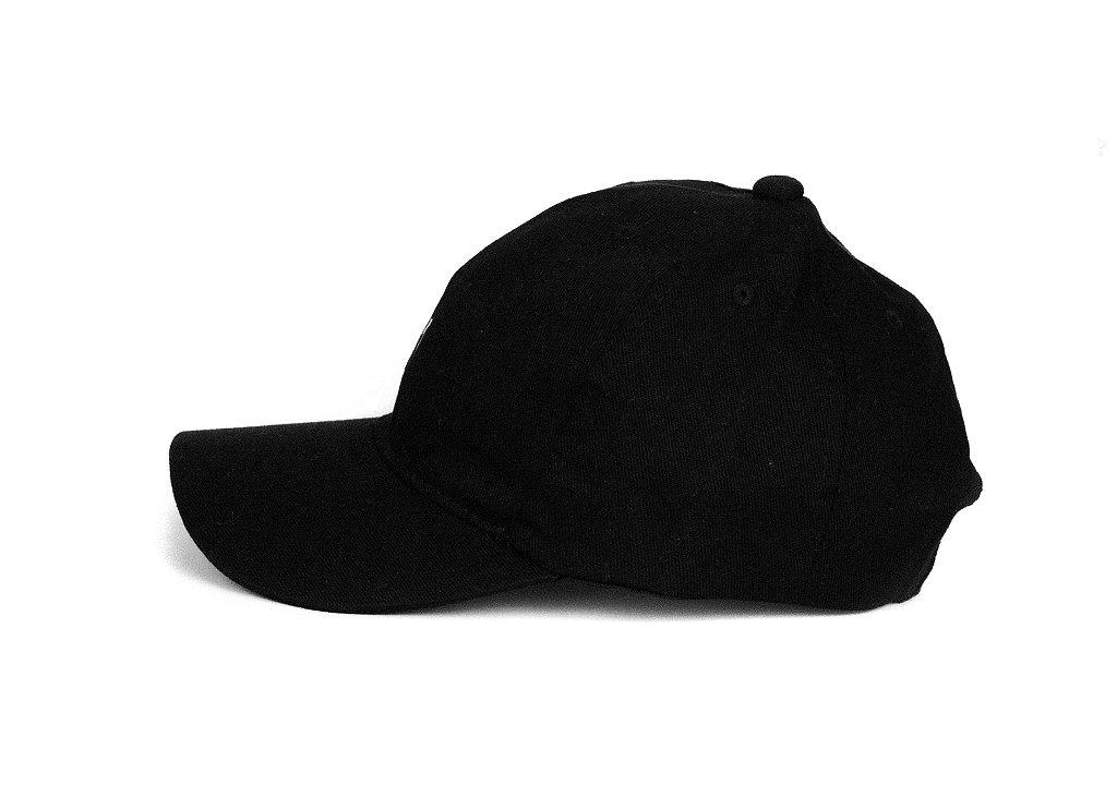 23312cc81feed Boné Dad Hat Aba Curva torta promoção barato Preto - Rich   Young