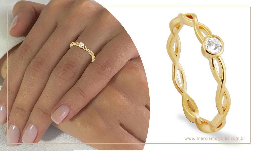 aneis de ouro márcia mor