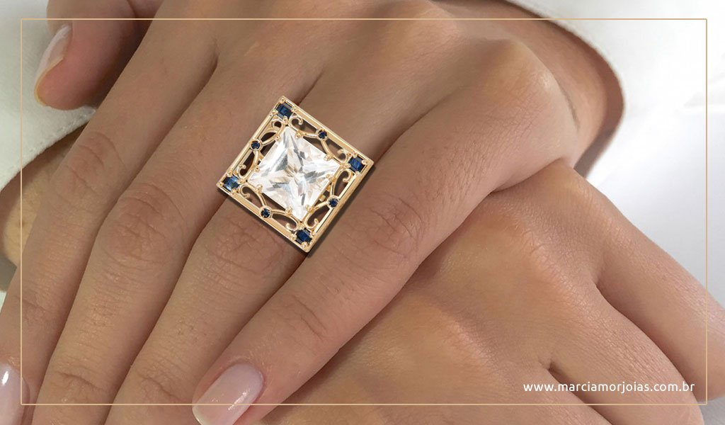 anel de ouro márcia mor