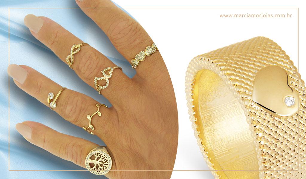 aneis de ouro