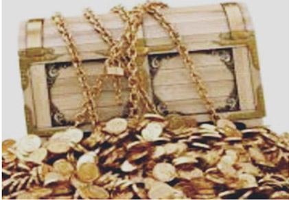 baú de ouro