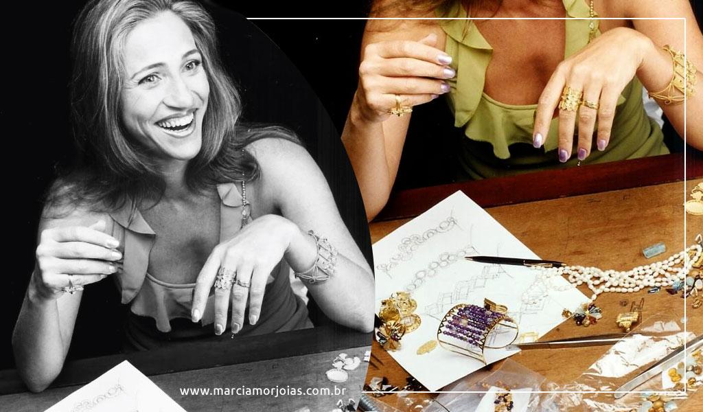 Como é o processo de design de joias