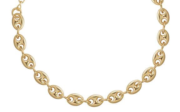 gargantilha de ouro marcia mor joias