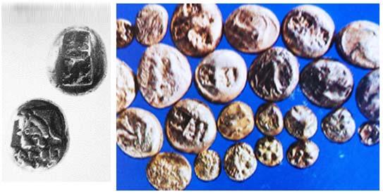 moeda de prata egipcia