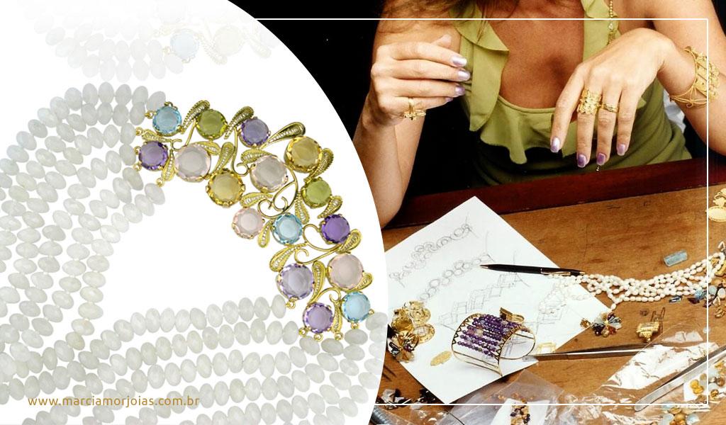 como fazer desenho de joias