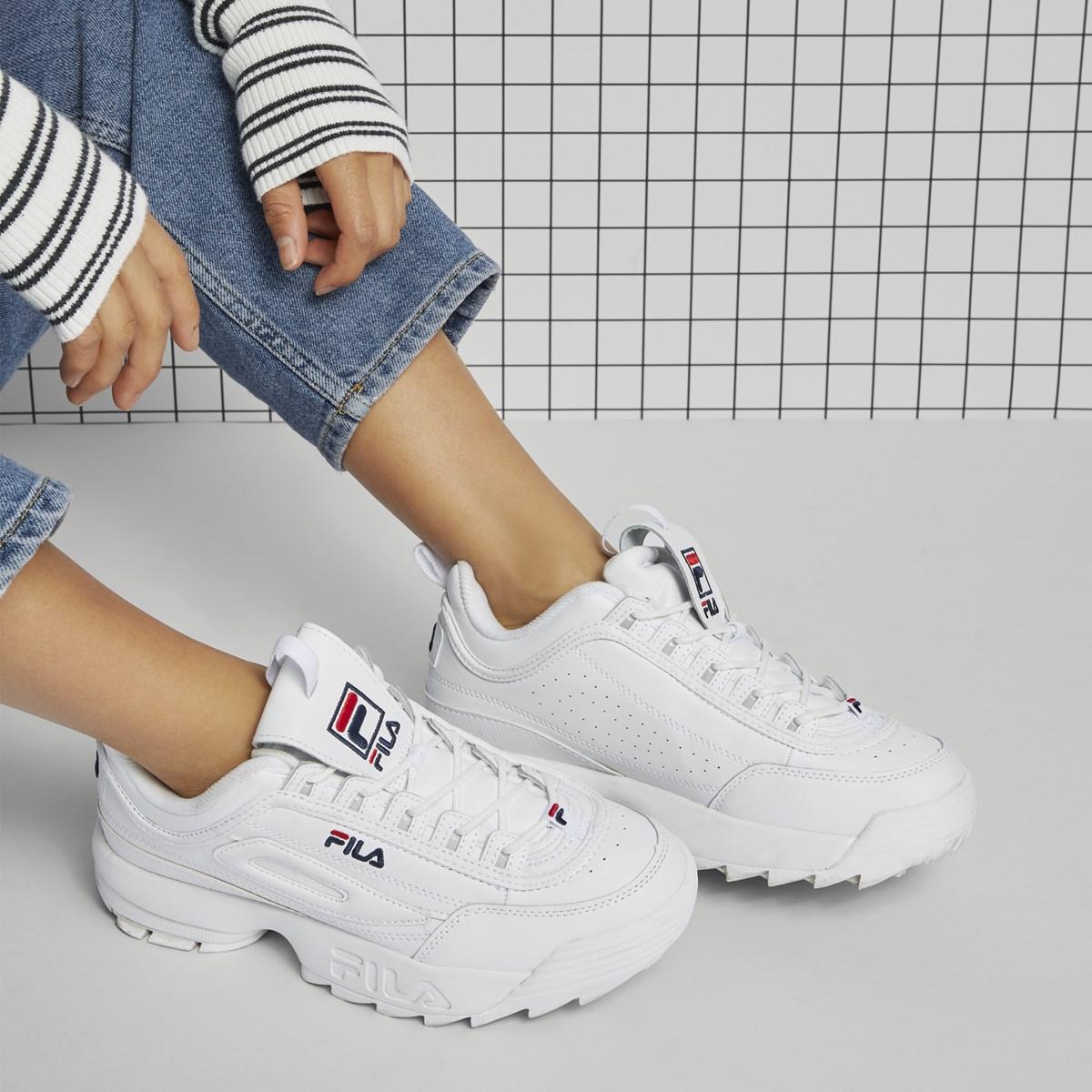 Fila-Disruptor-2-Premium-White-Feminino