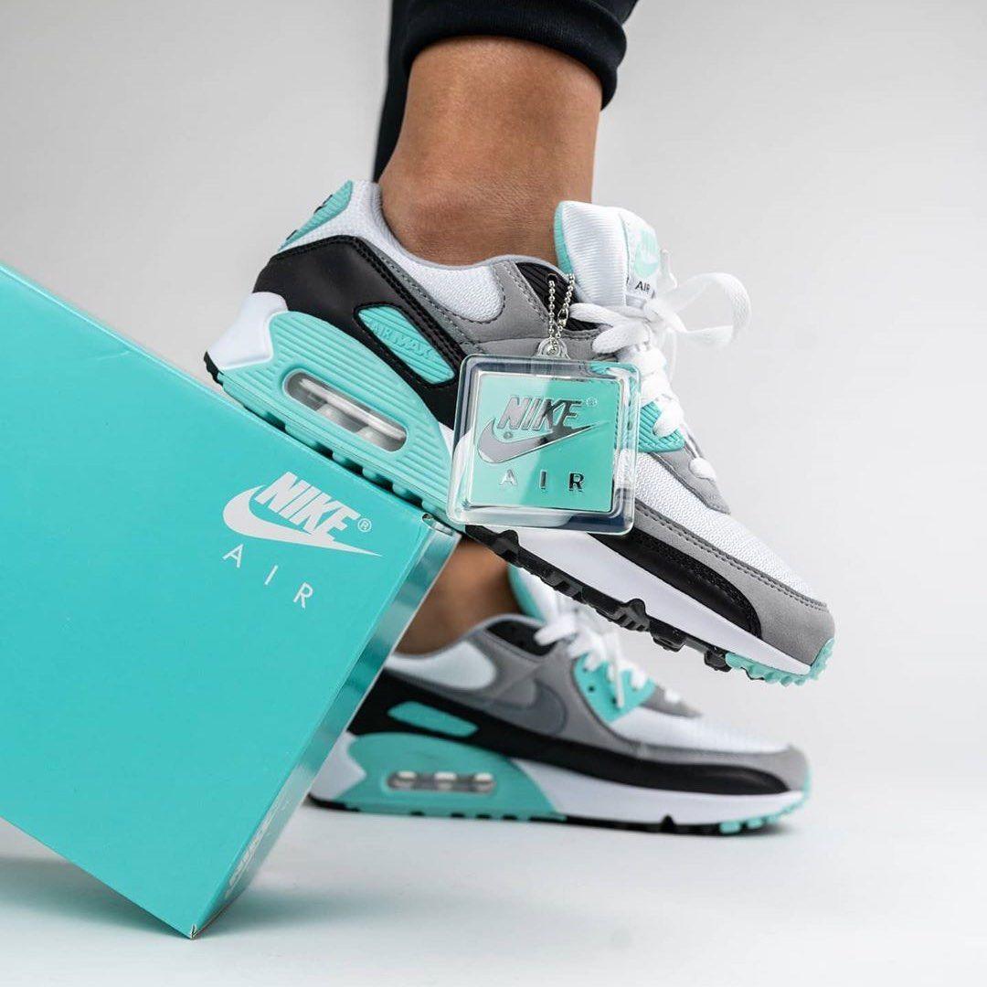 Nike-Air-Max-90-Turquoise-Feminino