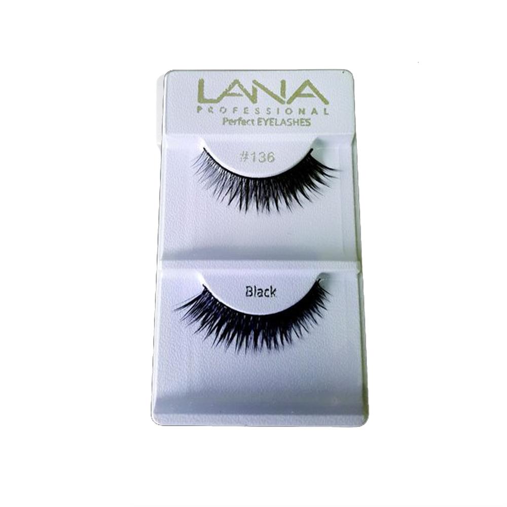 Cílios Postiços Lana Professional Par - Nº136 Black
