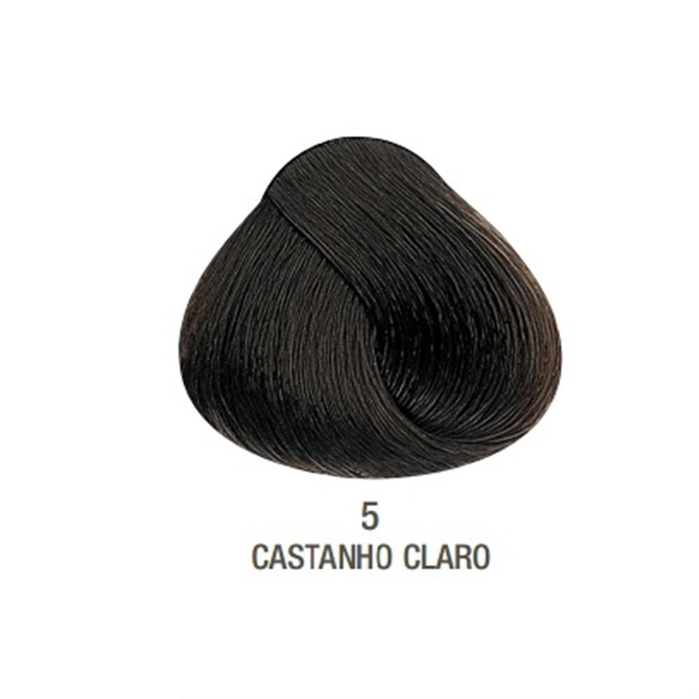 Coloração Creme Alfaparf Castanho Claro 5 - 60ml
