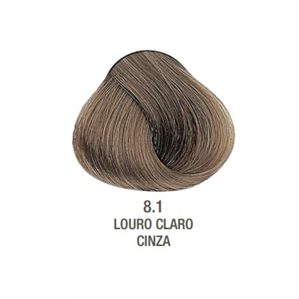 Tintura Evolution Alfaparf Louro Claro Cinza 8.1 - 60ml