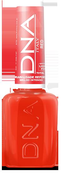 Esmalte DNA Italy Red Evolution Híbrido - Efeito Gel 10ml